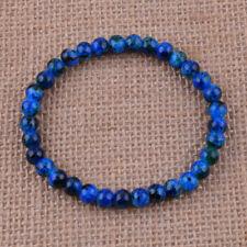 Fashion Jewelry 6mm Glass Beaded Cuff Stretch Bracelets Jewelry Gift Handcraft