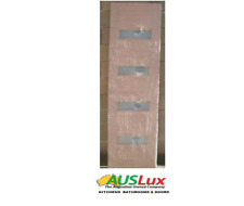 Solid Timber Horizontal 4 Entry House Door Side Lite
