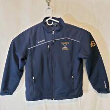Bauer Team Blue Hockey Jacket Coat Youth Xl Large b5154