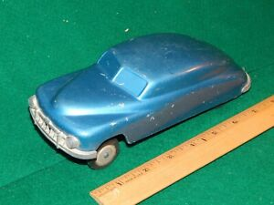 1950 Hudson Sedan J & S Products P-2 Diecast metal Suspension Toy 1/24 Blue Met.