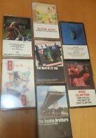 Classic Rock Cassette tape lot of 7 Janis Joplin,ZZ Top,Eagles,Eric clapton