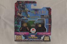 Marvel Minimates Roadworn Hero Thor & Civilian Loki Action Figure Ragnarok