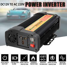 6000W 12000W Solar Power Energia Inverter Led 12V DC To 220V Sine Wave Converter