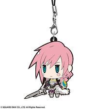Lightning  ver. 3 - Final Fantasy - Rubber Strap - Rare - Anime - Square Enix