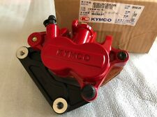 KYMCO 45100-LFH1-E00-EBA Front Left Brake Caliper RED - Xciting R 500i Scooter