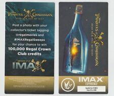 Pirates of the Caribbean Dead Men Tell Movie Ticket Exclusiv Regal xxx of 1000