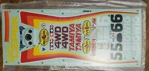 Tamiya BigWig Decal Sheet New 1986 58057 Authentic Vintage Original Big Wig