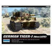 ACADEMY #13314 1/35 Plastic Model Kit  German Tiger-1 [Ver.LATE]
