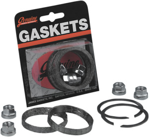 James Gasket Evo Twin Cam Exhaust Gasket Kit 84-20 Harley Dyna Touring FXST XL
