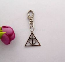 Harry Potter Deathly Hallows Keyring, Charm, Key Chain, Jewellery
