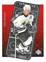 1995-96 Mike Modano Upper Deck SP Stars Etoiles Die Cut - Dallas Stars