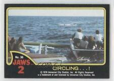 1978 Topps Jaws 2 #36 Circling…! Non-Sports Card 0a2