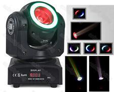 30W LED moving head Beam Light w/Halo Ring RGBW 4in1 LED Beam DJ Light Equipment