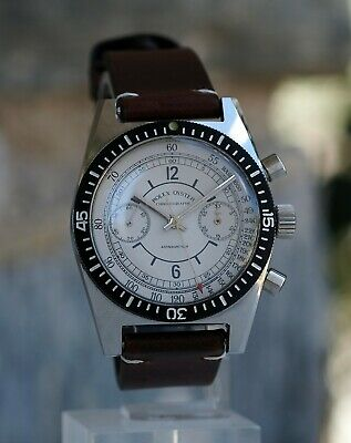 Rolex Oyster Chronograph Modified Valjoux 23 Movement St. Steel Case Recased
