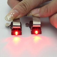 Bike Bicycle Rainproof Nano Brake Perfect Accessory Red LED light Safe Indicator