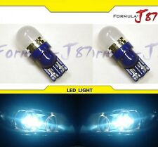 LED 5050 Light 168 Icy Blue 8000K Two Bulbs Side Marker Step Door Parking Trunk