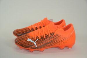 PUMA Ultra 3.1 FG AG Shock Orange Soccer Cleat | Men's Size 7.5
