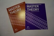Lot of 2 L179 L174  Master Theory Book 4, Paperback Charles S. Peters Paul Yoder