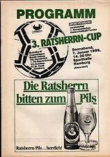 1989 HT Hamburger SV, St. Pauli, Bröndby IF Kopenhagen, Banik Ostrava  Edition A
