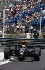 Roberto Moreno Andrea Moda S921 Monaco Grand Prix 1992 Photograph