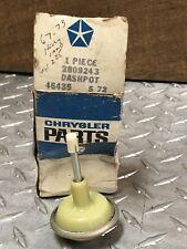 Holley Carburetor Dashpot 67-73 225 Ci NOS MOPAR 2809243