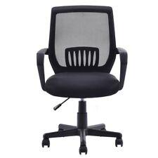 Mesh Mid-Back Office Chair Computer Desk Task Ergonomic Swivel Chairs 2Wheels US