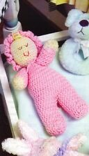 CUTE Sweetie Pie Baby/Toy/ Crochet Pattern INSTRUCTIONS ONLY