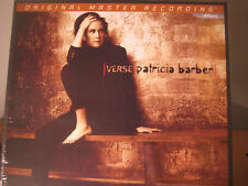 PATRICIA BARBER MFSL VERSE RARE 45 RPM 1/2 SPEED MASTERED AUDIOPHILE 2 LP BOX