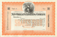 New Orleans Lighting Company > stock certificate share