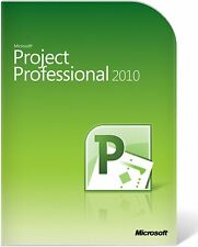 Microsoft Project Professional 2010 Retail Full Install Version DVD License Key