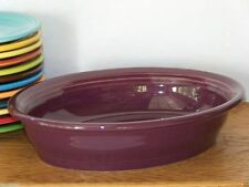 Fiesta® HEATHER Post 86 - Small Oval Bowl - Discontinued Color