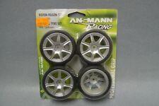 1:10 Ansmann 211000011 Reifen-Felgen-Set Fuse Silver - Wheel & Tyre Set