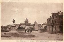 Carte BOURGANEUF Place Martin Nadaud