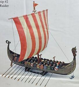 Conte Collectibles Viking Ship #2 The Sea Raider NIB