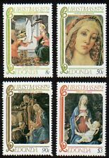 Redonda 1979 Christmas Paintings MNH