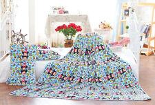 Disney tsum mickey blue coral fleece blanket warm blankets 150X200cm  SE13 NEW