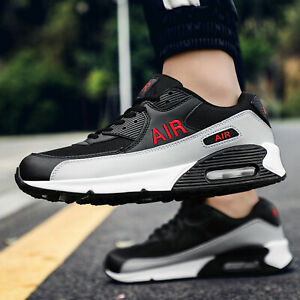 Men's Fitness Bubble Sport Walking Running Shoes Lightweight Trainers