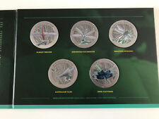 New Mint Australian Dragonflies Collectors Medallion & Stamp Set Limited To 200