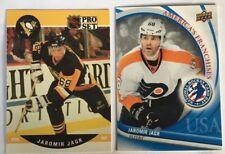 2 Jaromir Jagr Cards 1990-91 Pro Set  RC #632 & 2012 National Hockey Card Day #5