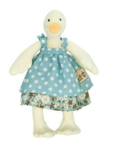 Moulin Roty Tiny Jeanne the Goose  (Jeanne La Cane) Baby Soft Toy Plush 20cm