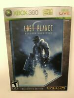 Lost Planet Extreme Condition Collector's Edition Xbox 360 Complete CIB Tested