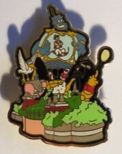 DISNEY WDW SNOWGLOBE PARADE ALADDIN DUMBO FLYING ELEPHANT POOH MARY POPPINS PIN