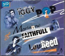 Iggy Pop / Marianne Faithfull / Lou Reed ** Sealed 3-CD Set (2010)