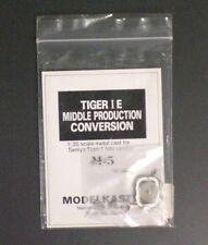 Modelkasten 1:35 White Metal Tiger I Mid Conversion for Tamiya Tiger I Late -M-5