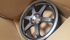 Rota wheels Grid 19x8.5 (5x100 + 44mm 56.1 Hub Bore) Tint Graphite 4 Wheels NEW