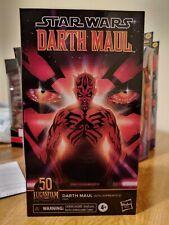 Star Wars Black Series 50TH Anniversary 6 Inch Darth Maul Action Figure IN HAND