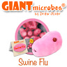 Giant Microbes Original Swine Flu GiantMicrobes