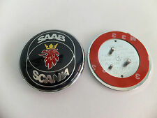 Saab Scania Bonnet Badge Emblem Roundel Blue.Saab 93 95 9-5 9-3 TID 12844161