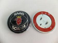 Saab Scania Motorhaube Abzeichen Emblem Roundel blau 93 95 9-5 9-3 TID 12844161