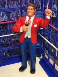 WWF LJN Wrestling Figure VINCE MCMAHON (1987) ** NEVER RELEASED IN AUSTRALIA **